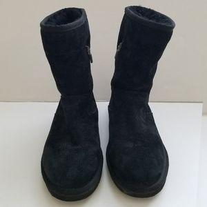 Ugg Short Black Boots 6
